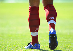 Virgil van Dijk of Liverpools boots - Mandatory by-line: Nizaam Jones/JMP - 21/04/2019 -  FOOTBALL - Cardiff City Stadium - Cardiff, Wales -  Cardiff City v Liverpool - Premier League