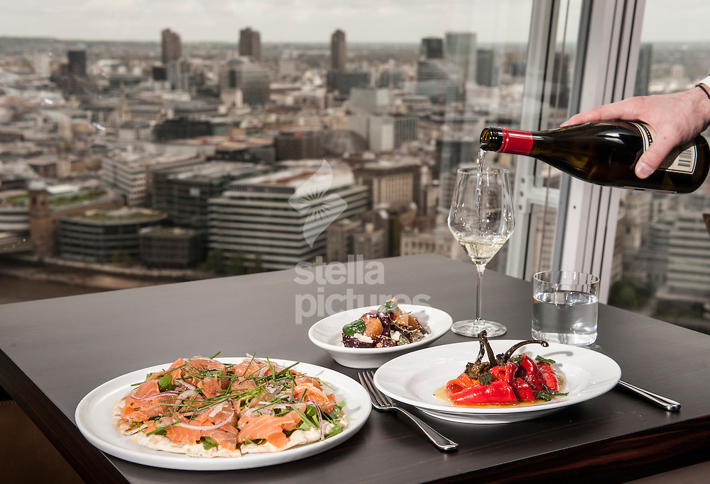 Oblix restaurant review stella pictures ltd for Restaurants at the shard