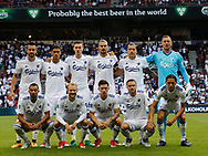 FOOTBALL: The FC København-team prior to the UEFA Champions League Second qualifying round, 2nd leg match between FC København and MŠK Žilina at Parken Stadium, Copenhagen, Denmark on July 19, 2017. Photo: Claus Birch