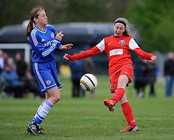 Bristol Academy WFC play Chelsea Ladies youth - Photo mandatory by-line: Dougie Allward/JMP - Mobile: 07966 386802 17/04/2014 - SPORT - FOOTBALL - Bristol - Gifford Stadium - Bristol Academy v Chelsea Ladies - The FA Women's Super League