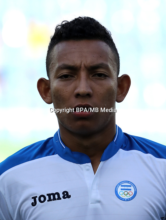 Fifa Men´s Tournament - Olympic Games Rio 2016 - <br /> Honduras National Team -  <br /> Allan BANEGAS