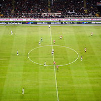 MILAN, FEBRUARY 26: players on the field during Italian Championship soccer game, AC Milan - Juventus on february 26, 2012 in Milan