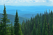View , Sunpeaks near Kamloops, British Columbia, Canada
