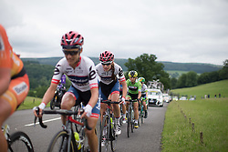 Clara Koppenburg (GER) of Cervélo-Bigla Cycling Team digs deep at the beginning of the last climb of the Aviva Women's Tour 2016 - Stage 3. A 109.6 km road race from Ashbourne to Chesterfield, UK on June 17th 2016.