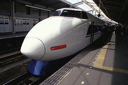 Thr Bullet Train from Osaka to Himeji in Japan is an example of high speed rail..(Why can't we have it from Orlando to Tampa?)