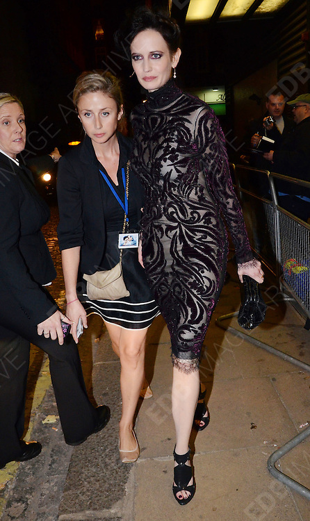 04.OCTOBER.2011. LONDON<br /> <br /> EVA GREEN LEAVING THE CURZON MAYFAIR CINEMA AFTER ATTENDING THE UK FILM PREMIERE OF 'PERFECT SENSE' IN LONDON, UK.<br /> <br /> BYLINE: EDBIMAGEARCHIVE.COM<br /> <br /> *THIS IMAGE IS STRICTLY FOR UK NEWSPAPERS AND MAGAZINES ONLY*<br /> *FOR WORLD WIDE SALES AND WEB USE PLEASE CONTACT EDBIMAGEARCHIVE - 0208 954 5968*