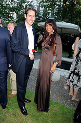 VISCOUNT HEREFORD and MALA LINDSAY at the Tatler Summer Party, The Hempel Hotel, 31-35 Craven Hill Gardens, London W2 on 25th June 2008.<br />