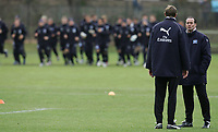 Fotball<br /> Bundesliga<br /> 04.02.07<br /> Treningsleir Hamburger SV<br /> Karsten Baeron og Trainer Huub Steven<br /> DIGITALSPORT / NORWAY ONLY
