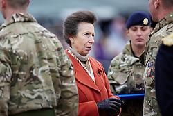 Princess Anne presents Afghanistan Medal Presentation. the Dalton Barracks,Abingdon, Abingdon, United Kingdom. Thursday, 31st October 2013. Picture by i-Images