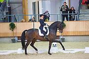 Jeannette Haazen - Dabanos D'04<br /> KNHS Indoorkampioenschappen 2018<br /> © DigiShots