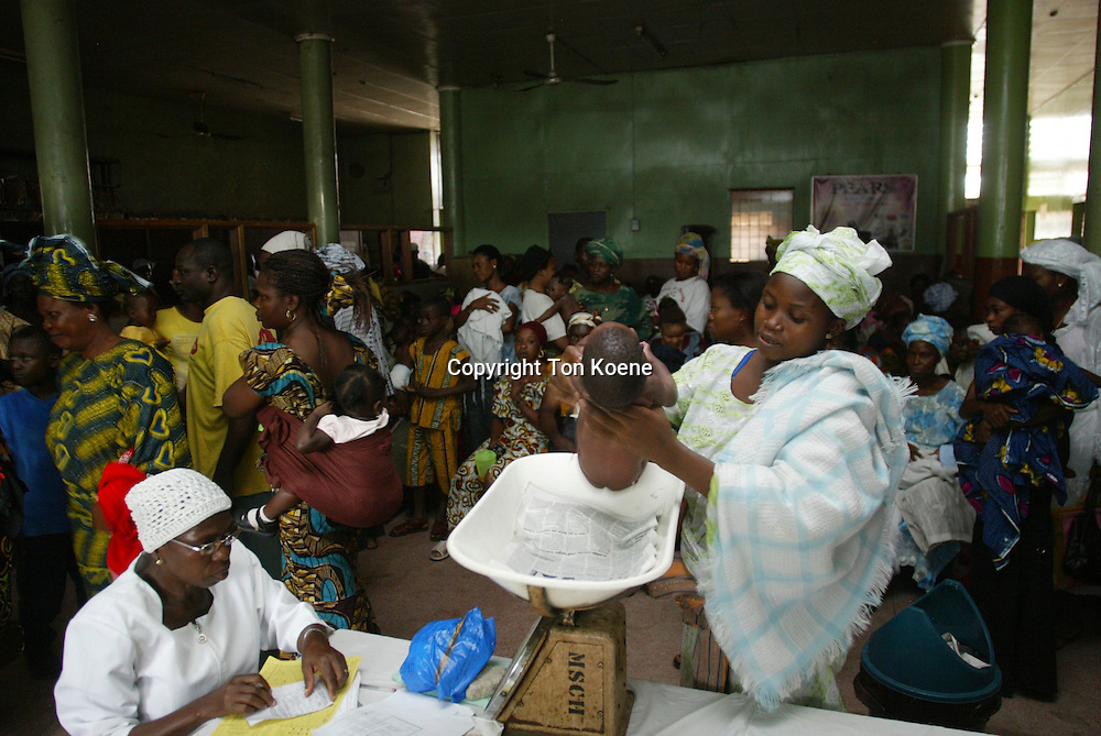 Hospital in Lagos, Nigeria