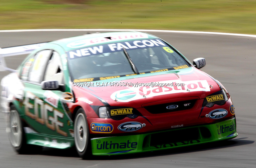 Steven Richards driving the Ford Performance Racing Falcon during the V8 Supercar race at Eastern Creek Raceway, Western Sydney on Saturday 8th March 2008. Photo: Clay Cross/PHOTOSPORT