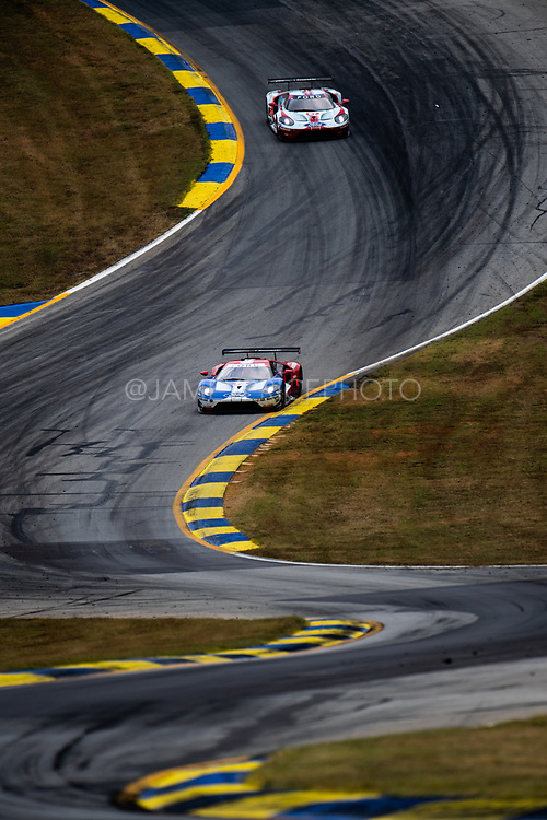 October 10-12, 2019: IMSA Weathertech Series, Petit Le Mans: #66 Ford Chip Ganassi Racing Ford GT, GTLM: Joey Hand, Dirk Mueller, Sebastien Bourdais, #67 Ford Chip Ganassi Racing Ford GT, GTLM: Ryan Briscoe, Richard Westbrook, Scott Dixon