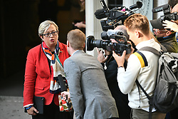 © Licensed to London News Pictures. 17/09/2019. London, UK. SNP MP JOANNA CHERRY is seen arriving at the The Supreme Court in London where an appeal has been made against a judicial review of Boris Johnson's suspension of Parliament. The case has been brought by remain campaigner Gina Miller, with support from former British Prime Minister John Major. Photo credit: Ben Cawthra/LNP
