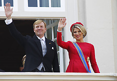 SEP 16 2014 King Willem-Alexander Addresses His Government On Budget Day