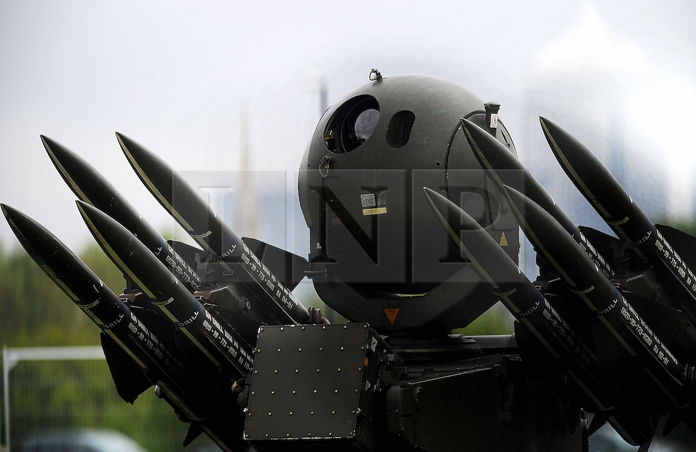 © Licensed to London News Pictures. 04/05/2012.A Rapier surface to air missile system (SAM) belonging to Sphinx Battery, 16 Regiment Royal Artillery, is seen on Blackheath common in London today 04.05.2012..Photo credit : Grant Falvey/LNP