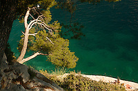 The coast near les callenques de Cassis on the French Riviera - photograph by Owen Franken