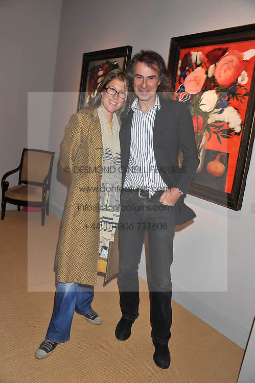 IVOR & SARAH BRAKA at the Private View of the Pavilion of Art & Design London 2011 held in Berkeley Square, London on 10th October 2011.