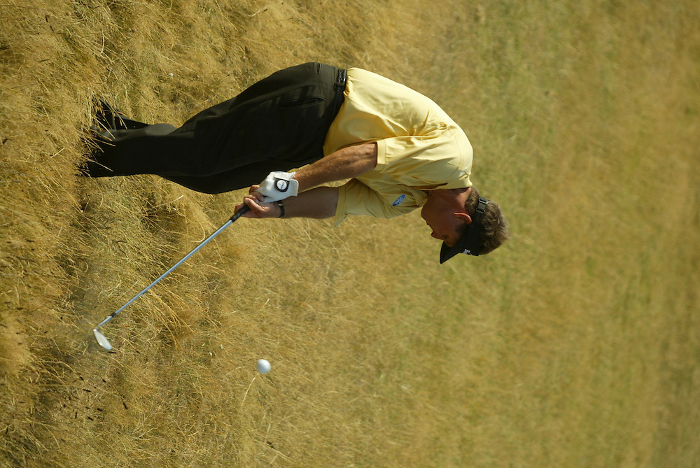 Phil Mickelson..2003 British Open..Third Round..Royal St. George's Golf Club..Sandwich, Kent, England..Saturday, July 19  2003..photograph by Darren Carroll