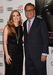 HOLLYWOOD, CA - NOVEMBER 16: Actress attends AFI FEST 2017 Closing Night Gala - Screening of 'Molly's Game' at TCL Chinese Theatre on November 16, 2017 in Hollywood, California. 16 Nov 2017 Pictured: HOLLYWOOD, CA - NOVEMBER 16: Actress Jessica Chastain and Director/screenwriter Aaron Sorkin attend AFI FEST 2017 Closing Night Gala - Screening of 'Molly's Game' at TCL Chinese Theatre on November 16, 2017 in Hollywood, California. Photo credit: Jeffrey Mayer / MEGA TheMegaAgency.com +1 888 505 6342