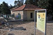 Israel, Hadera stream a seasonal watercourse nature reserve. Historic pumping station (1906)