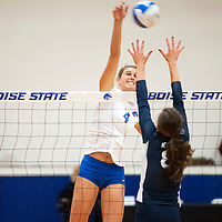 Volleyball vs Nevada, Carrie Quinney photo