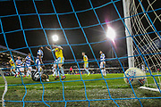 GOAL 1-2. Rotherham United defender Semi Ajayi (5) (not in the picture) scores a goal during the EFL Sky Bet Championship match between Queens Park Rangers and Rotherham United at the Loftus Road Stadium, London, England on 13 March 2019.