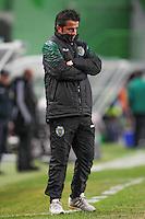 Marco Silva  - 28.01.2015 - Sporting / Vitoria Setubal -Coupe de la ligue- Portugal-<br /> Photo : Carlos Rodrigues /  Icon Sport