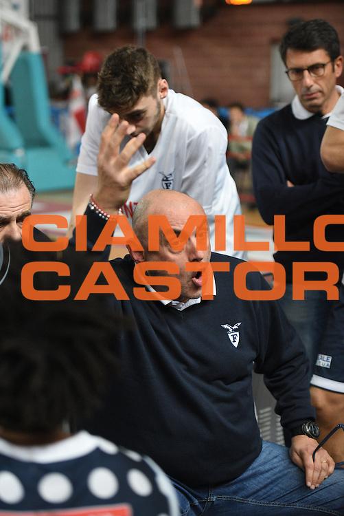 Matteo Boniciolli<br /> Dinamica Generale Mantova - Kontatto Bologna<br /> Campionato Basket LNP 2016/2017<br /> Mantova 06/11/2016<br /> Foto Ciamillo-Castoria