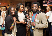 Dance UK Conference opening event at The Place, London, Great Britain <br /> 9th April 2015 <br /> <br /> THE UK'S FIRST-EVER INDUSTRY-WIDE DANCE CONFERENCE 9-12 APRIL, HOSTED BY DANCE UK. <br /> THE FUTURE: NEW IDEAS, NEW INSPIRATIONS OPENS AT THE PLACE <br /> KEYNOTE SPEAKERS DAME GILLIAN LYNNE, SIR KEN ROBINSON AND SIR PETER BAZALGETTE, COMPARED BY ARLENE PHILLLIPS CBE AND ASHLEY BANJO. <br /> OPENING CELEBRATION PERFORMERS INCLUDE BBC STRICTLY COME DANCING'S ROBIN WINDSOR & KRISTINA RIHANOFF, NATIONAL DANCE COMPANY OF WALES, TENIESHA BONNER AND VERVE (Graduate Company of Northern School of Contemporary Dance). <br /> <br /> Photograph by Elliott Franks
