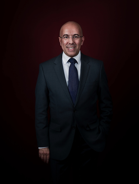 Eric Ciotti,  Président du conseil général des Alpes-Maritimes.
