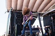Tallahassee, Florida band Mayday Parade performed during the San Francisco stop of The Vans Warped music festival on Saturday, June 23, 2012. Many of the 20,000 fans near AT&T Park in downtown San Francisco cheered for vocalist/ keyboardist Derek Sanders, bassist Jeremy Lenzo, guitarists Alex Garcia and Brooks Betts and drummer Jake Bundrick.