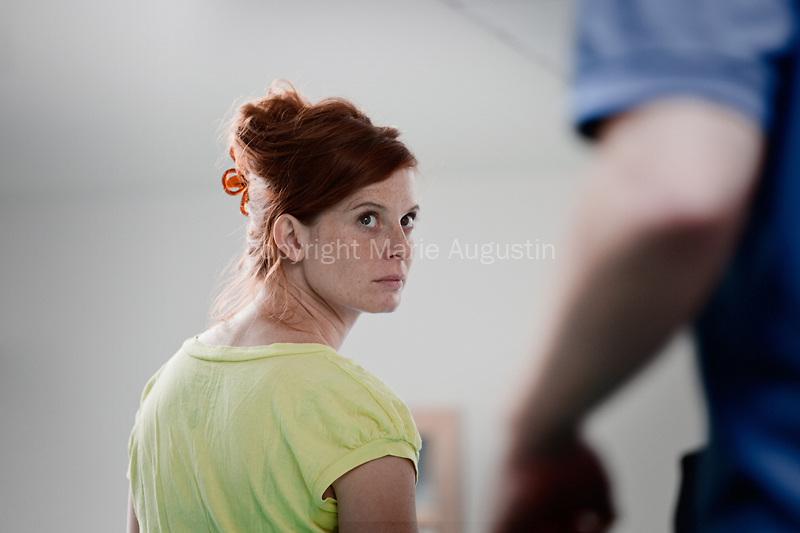Judith GARS, tournage scène imposée de Christophe REGIN - emergence 2011