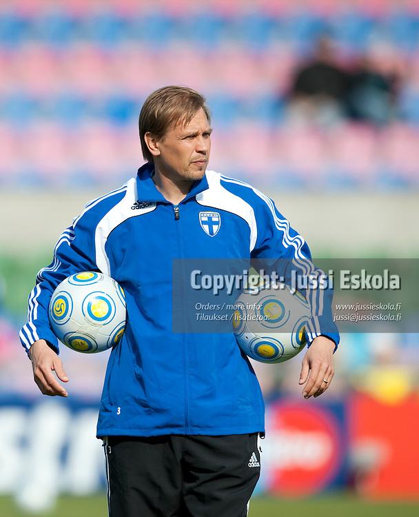 Kari Martonen. Saksa - Suomi. Alle 21-vuotiaiden EM-turnaus. Halmstad, Ruotsi 18.6.2009. Photo: Jussi Eskola