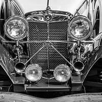 1939 Jaguar SS100 Duke down low black and white