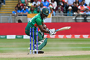 Wicket - Rubel Hossain of Bangladesh is bowled by Jasprit Bumrah of India during the ICC Cricket World Cup 2019 match between Bangladesh and India at Edgbaston, Birmingham, United Kingdom on 2 July 2019.