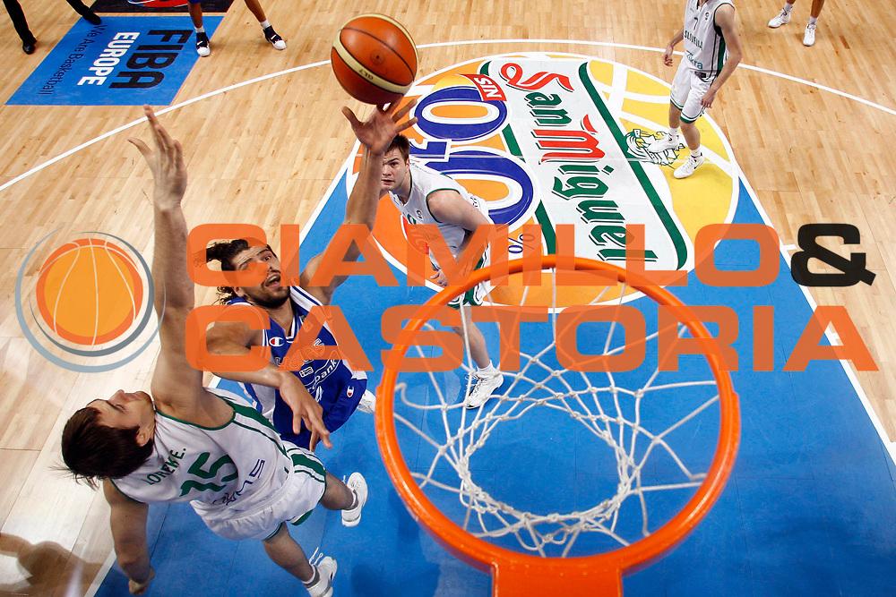 DESCRIZIONE : Madrid Spagna Spain Eurobasket Men 2007 Quarter Final Quarti di Finale Grecia Greece Slovenia Slovenia <br /> GIOCATORE : Lazaros Papadopoulos<br /> SQUADRA : Grecia Greece <br /> EVENTO : Eurobasket Men 2007 Campionati Europei Uomini 2007 <br /> GARA : Grecia Greece Slovenia Slovenia <br /> DATA : 14/09/2007 <br /> CATEGORIA : Special<br /> SPORT : Pallacanestro <br /> AUTORE : Ciamillo&amp;Castoria/JF.Molliere<br /> Galleria : Eurobasket Men 2007 <br /> Fotonotizia : Madrid Spagna Spain Eurobasket Men 2007 Quarter Final Quarti di Finale Grecia Greece Slovenia Slovenia <br /> Predefinita :