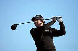 The Alfred Dunhill Golf Championship 2009 at The Old Course, St Andrews, Kingsbarns and Carnoustie.. .  Leader Rory McIlroy  during the Gale-Force Delayed Third  Round of the Alfred Dunhill Golf Championship...Picture by Mark Davison/ Universal News & Sport