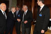 DESCRIZIONE : Roma Palazzo Chigi Commissione FIBA in visita per assegnazione dei Mondiali 2014<br /> GIOCATORE : Boris Stankovic Markus Studar Predrag Bogosavljev <br /> SQUADRA : Fiba Fip<br /> EVENTO : Visita per assegnazione dei Mondiali 2014<br /> GARA :<br /> DATA : 03/04/2009<br /> CATEGORIA : Ritratto<br /> SPORT : Pallacanestro<br /> AUTORE : Agenzia Ciamillo-Castoria/G.Ciamillo