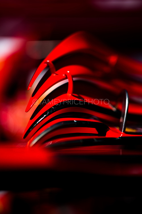 May 23-27, 2018: Monaco Grand Prix. Scuderia Ferrari, SF71H wing detail