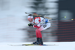 10.03.2016, Holmenkollen, Oslo, NOR, IBU Weltmeisterschaft Biathlion, Oslo, 20km, Herren, im Bild Lukasz Szczurek (POL) // during Mens 20km individual Race of the IBU World Championships, Oslo 2016 at the Holmenkollen in Oslo, Norway on 2016/03/10. EXPA Pictures © 2016, PhotoCredit: EXPA/ Newspix/ Tomasz Jastrzebowski<br /> <br /> *****ATTENTION - for AUT, SLO, CRO, SRB, BIH, MAZ, TUR, SUI, SWE only*****