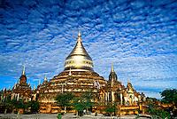 The Dhammakazika Pagoda, Bagan (Pagan), Burma (Myanmar)