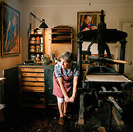 Print maker, Art Workers Guild 125 Years