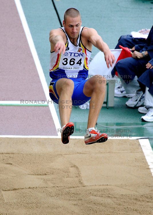 31-08-2007 ATLETIEK: IAAF WORLD CHAMPIONSHIPS: OSAKA JAPAN<br /> Hans van Alphen BEL<br /> &copy;2007-WWW.FOTOHOOGENDOORN.NL