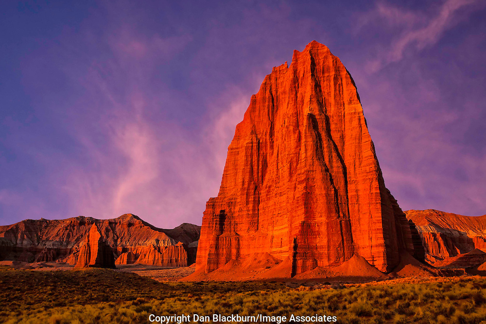 Sunrise at Temple of the Sun & Temple of the Moon Capitol Reef National Park Utah