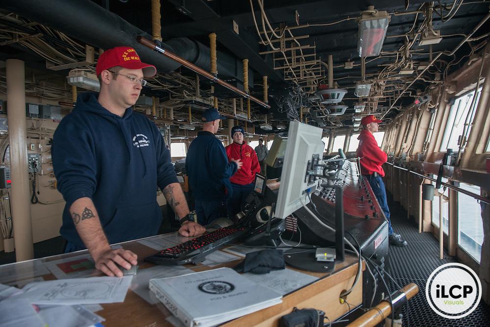 US Coast Guard Ship Healy bridge. 07.20.2015, Esther Horvath / iLCP