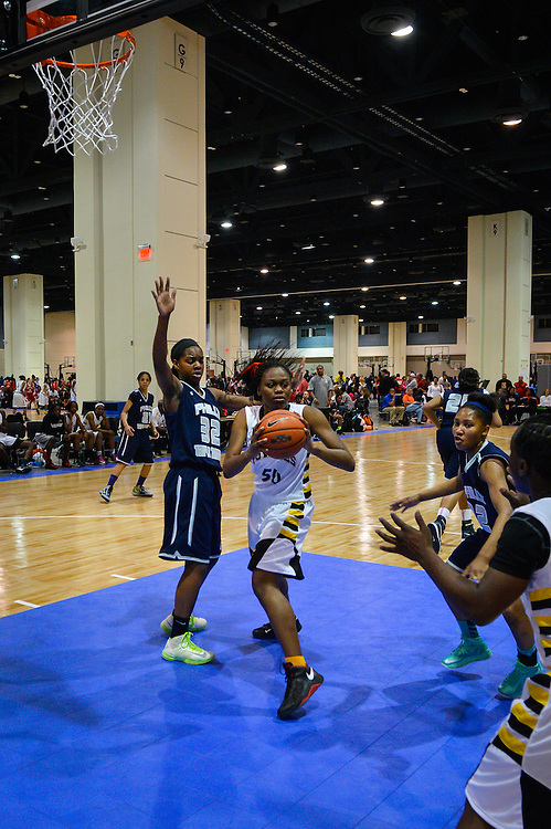 Deep South Classic girls basketball tournament, Raleigh Convention Center, Raleigh, North Carolina April 19 21, 2013