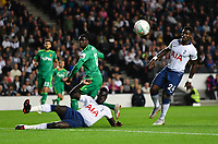 Football - 2018 / 2019 EFL Carabao Cup (League Cup) - Third Round: Tottenham Hotspur vs. Watford<br /> <br /> Watford's Ken Sema fails to connect with a cross, at Stadium MK.<br /> <br /> COLORSPORT/ASHLEY WESTERN