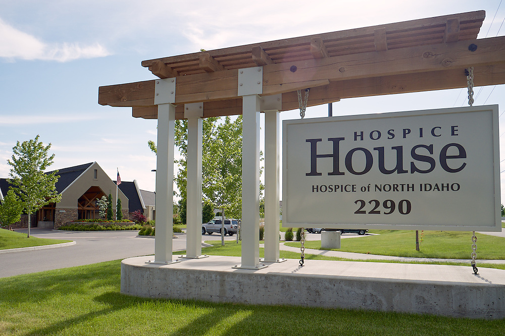 Exterior images of the Hospice House take Wednesday, June 4, 2014 in Hayden, Idaho.