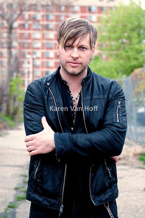 Three Days Grace promotional pictures by Karen Van Hoff